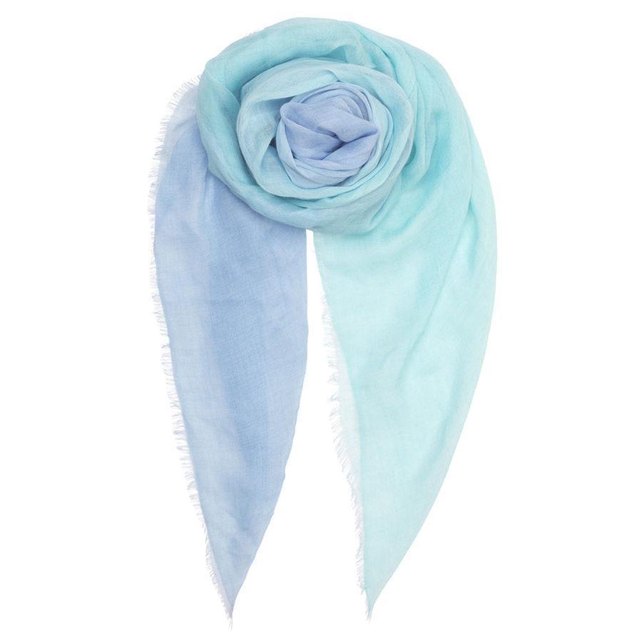 foulard saiki aqua blue becksondergaard