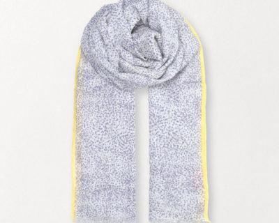 foulard inky dots becksondergaard lavande