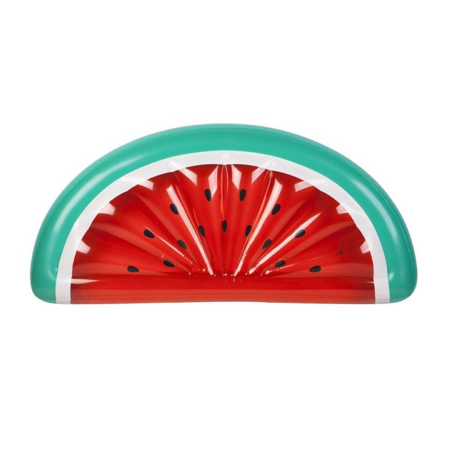 matelas gonflable pastèque sunnylife