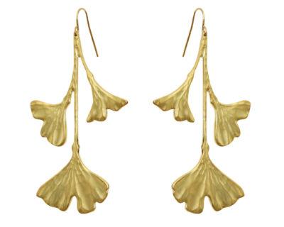 boucles d'oreilles adeline plaqué or by zia
