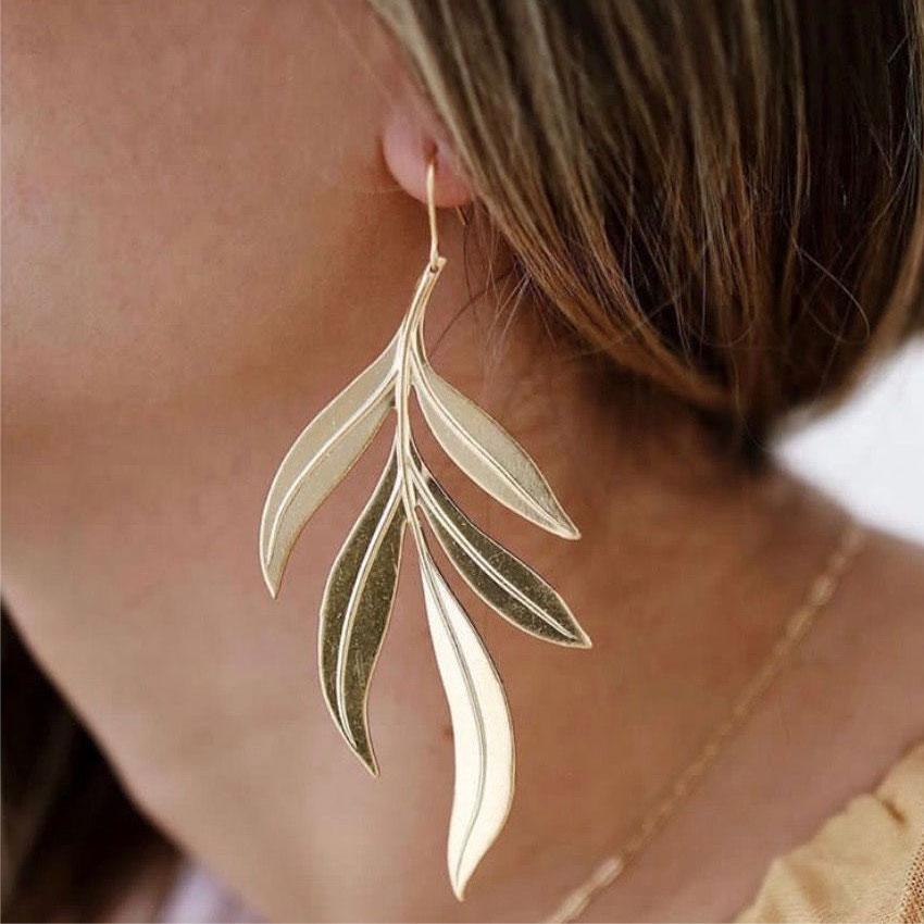 boucles d'oreilles plaqué or lali by zia