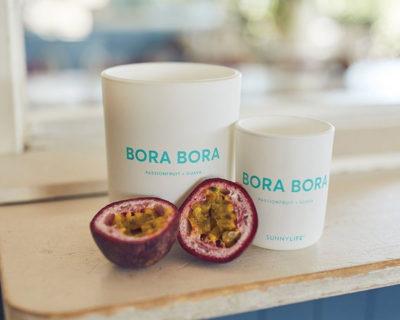 bougie parfumée bora bora