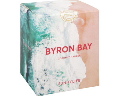 bougie parfumée byron bay sunnylife