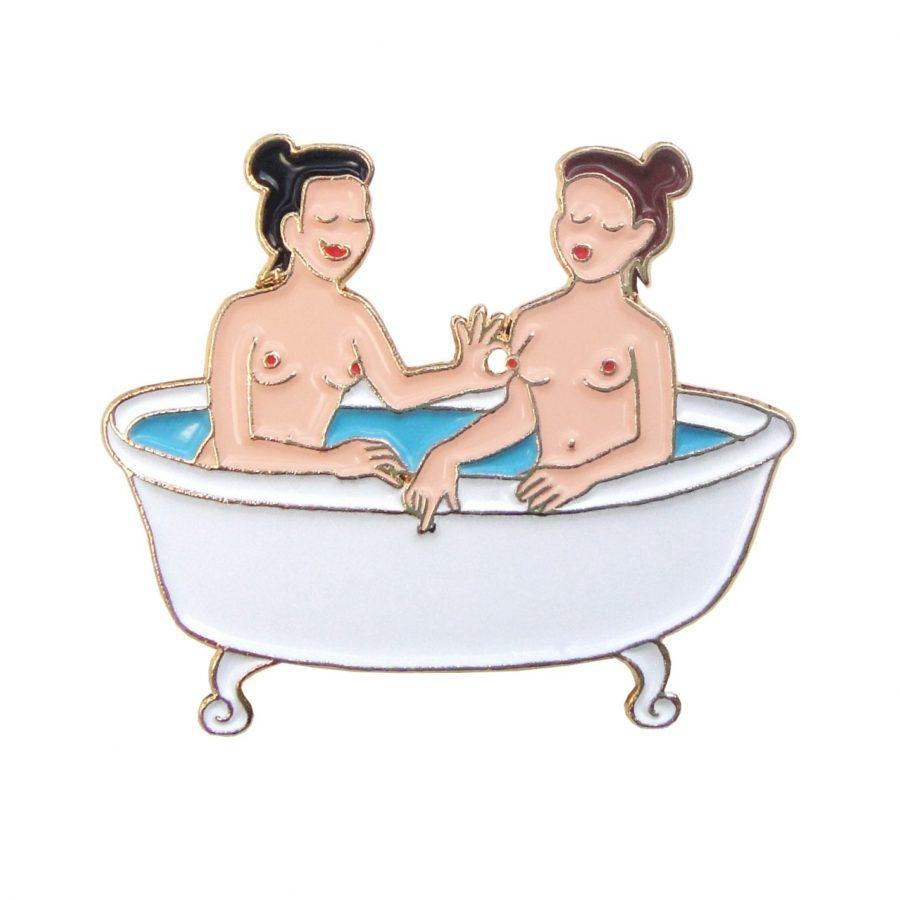 pin's bain coucou suzette