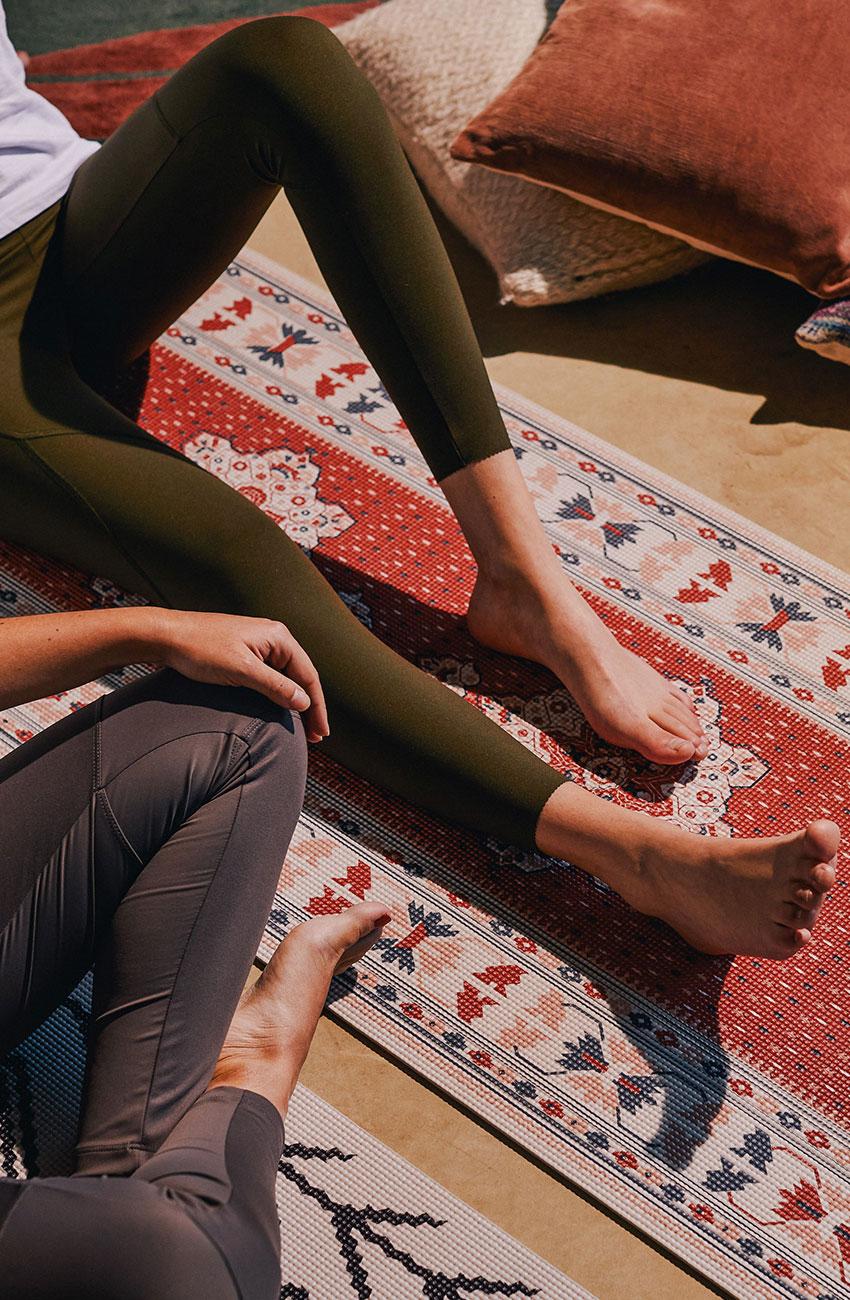 tapis de yoga persan doiy