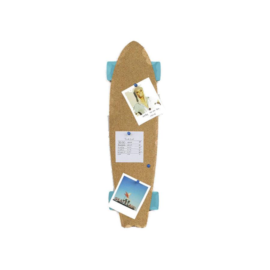 tableau mémo skateboard en liège