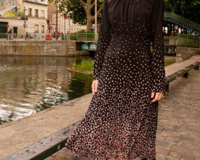 robe lian noir idano