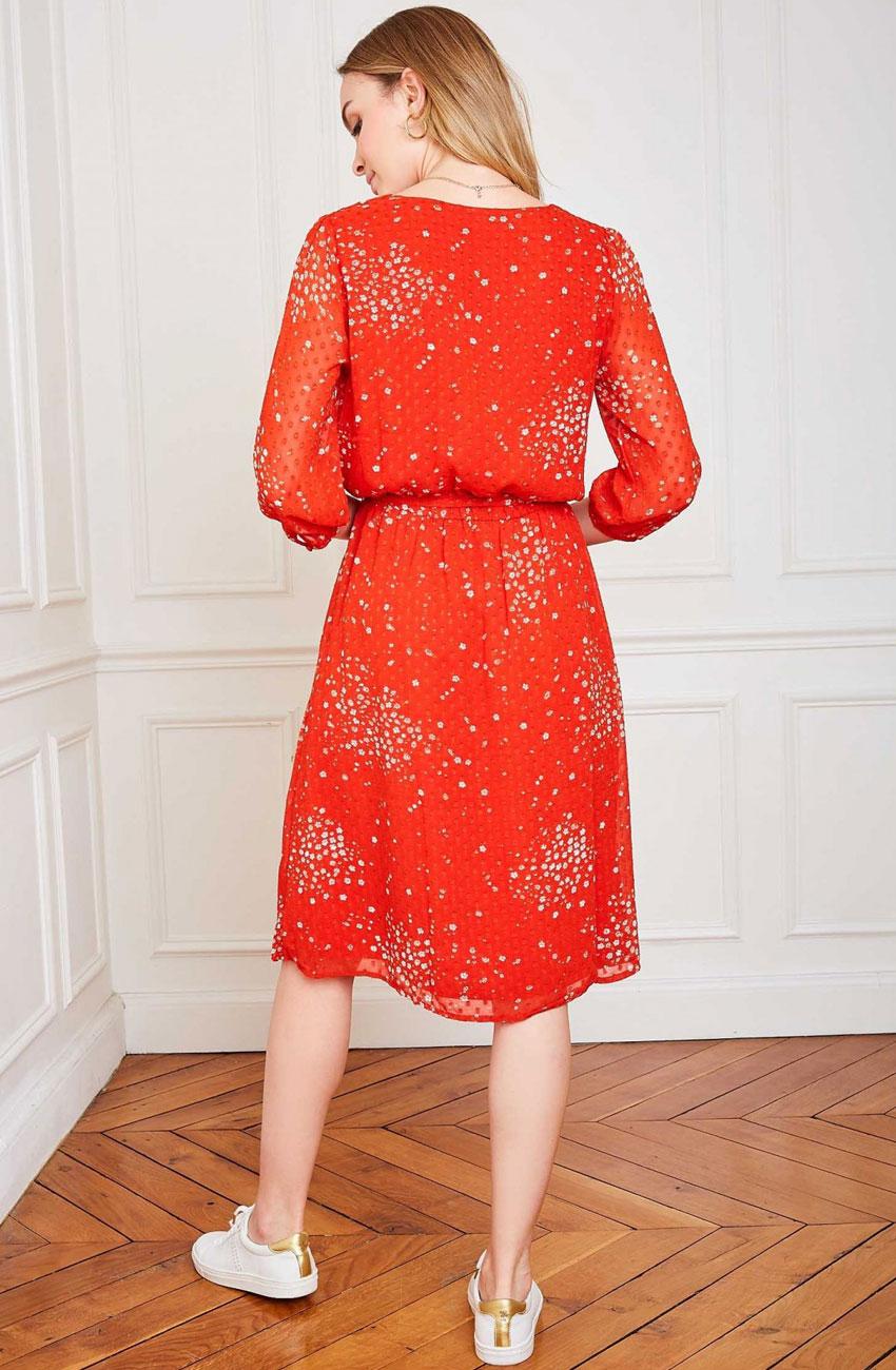 robe marceau rouge