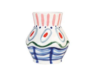 vase peint à la main dalil &klevering