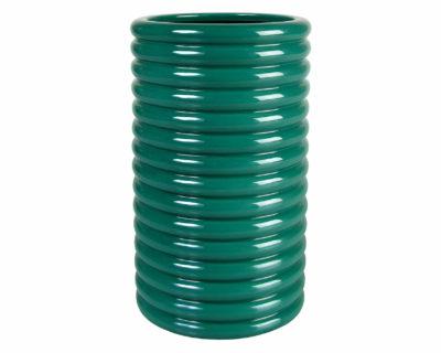vase bobine &k vert
