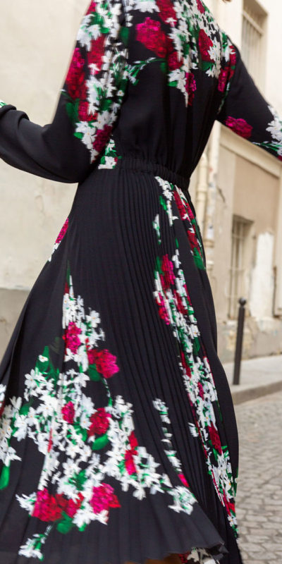 robe dayna noir idano