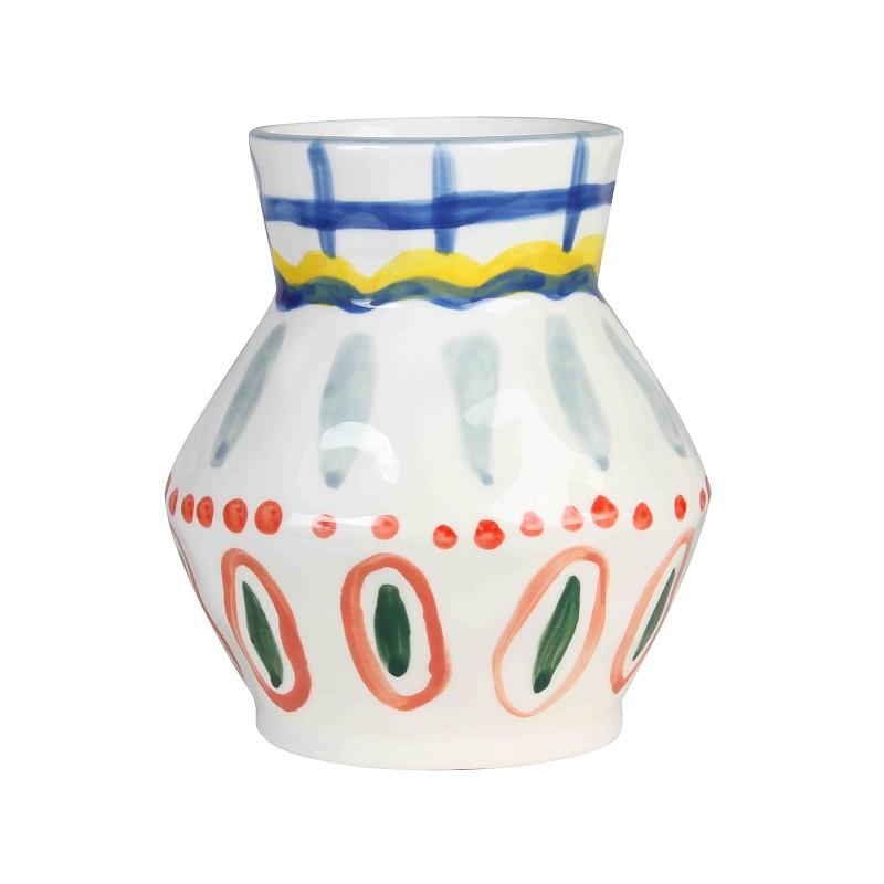 vase aya peint à la main &k