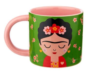 mug porcelaine frida