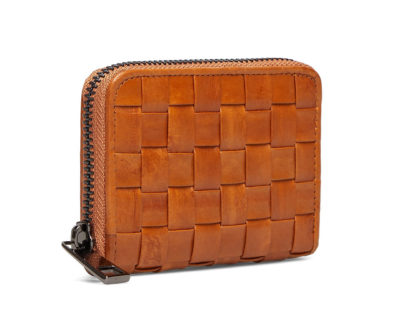 braidy purse cognac portefeuille