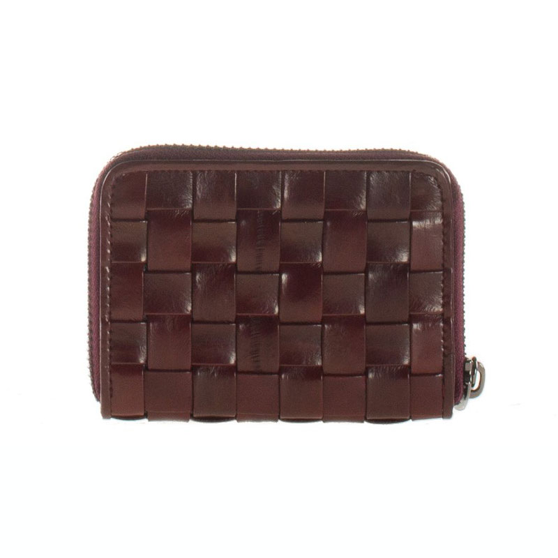 braidy purse portefeuille lie de vin
