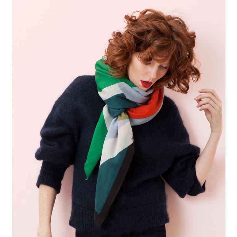 foulard ruban mousse mapoésie