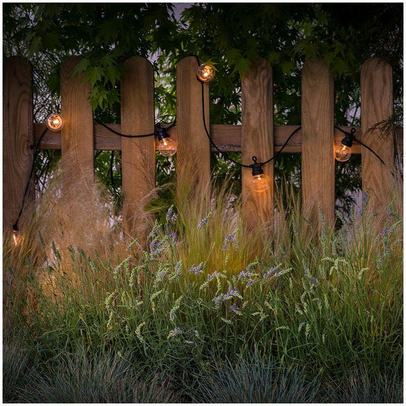 guirlande lumineuse exterieure transparente la case du cousin paul