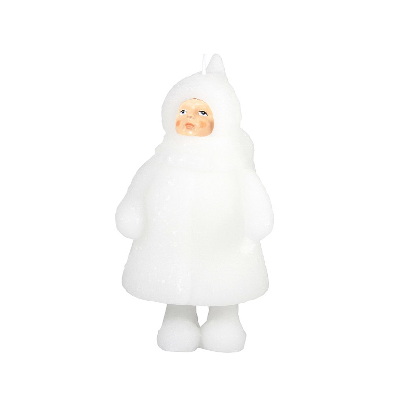 grande bougie snow doll