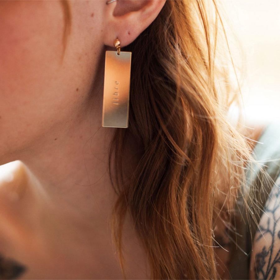 boucles d'oreilles libres mallow