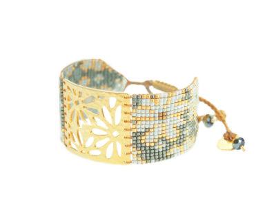 bracelet margarita perles cousues