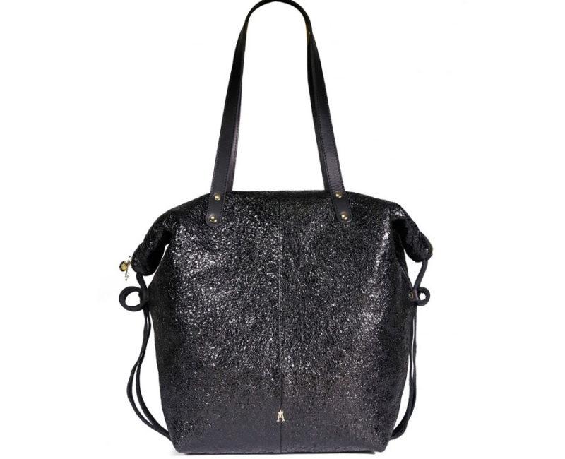 sac doudou crispy noir