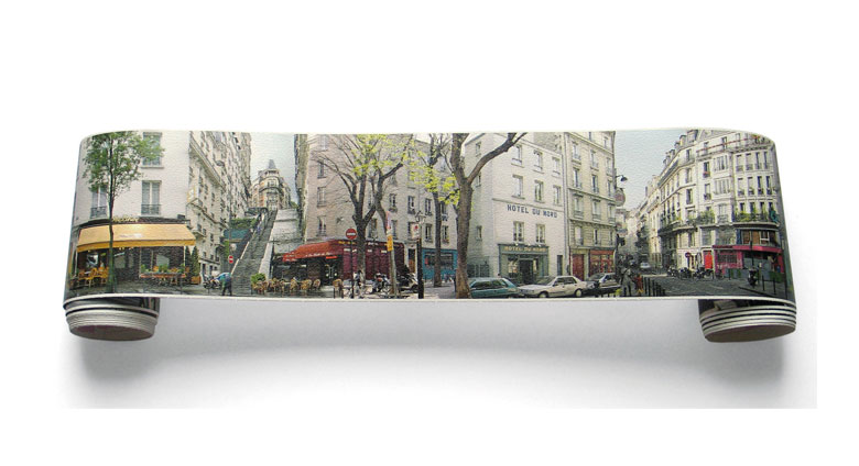 frise panoramique autocollante paris