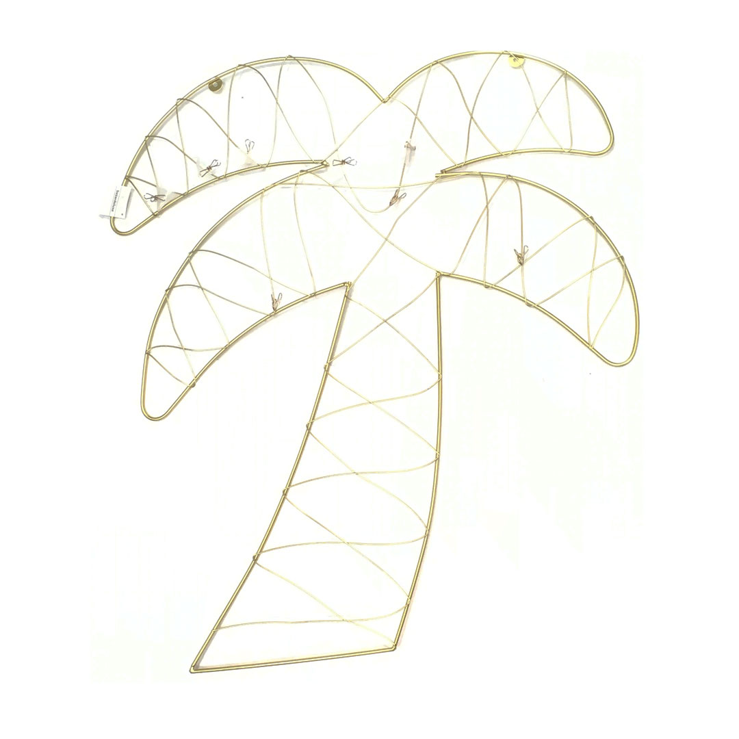 pêle mêle palmier doré