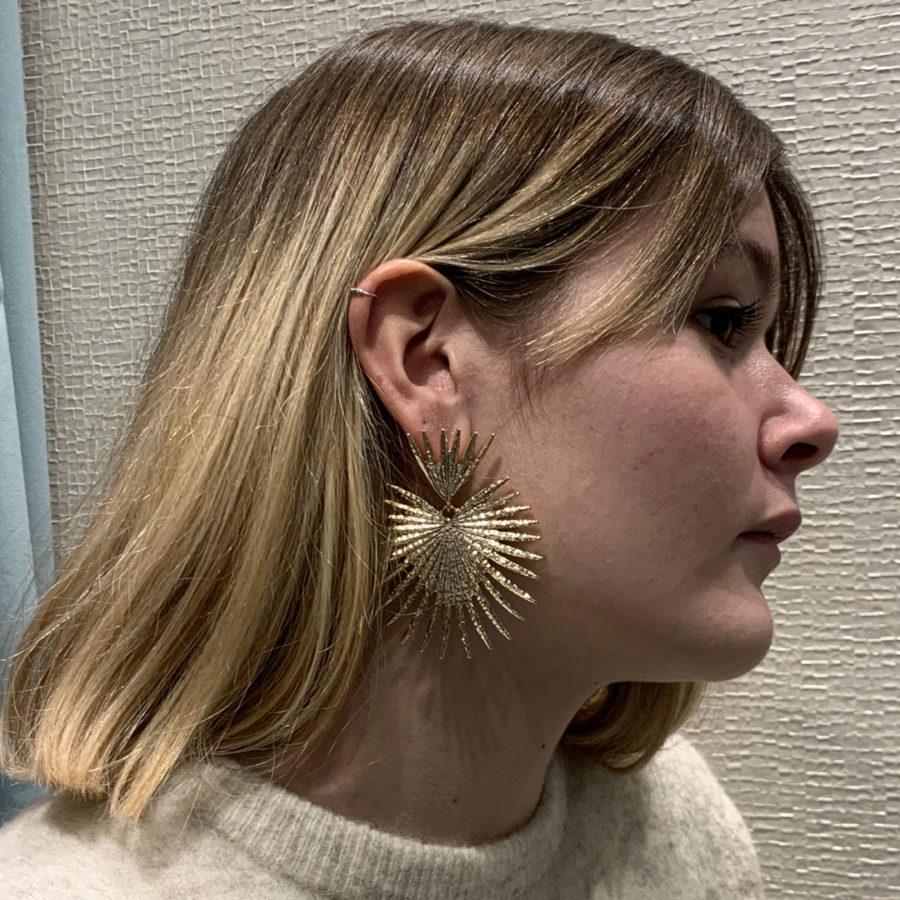 boucles d'oreilles cyclone