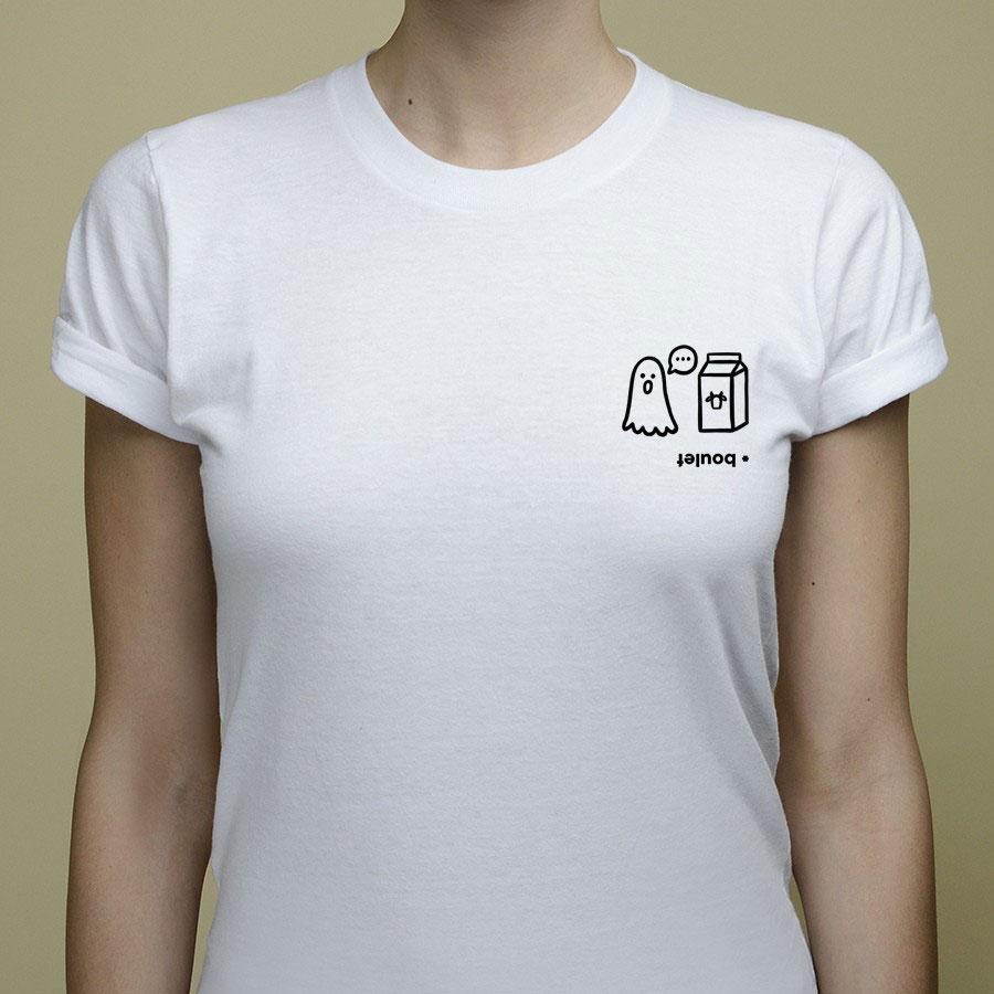 t-shirt boulet rébus