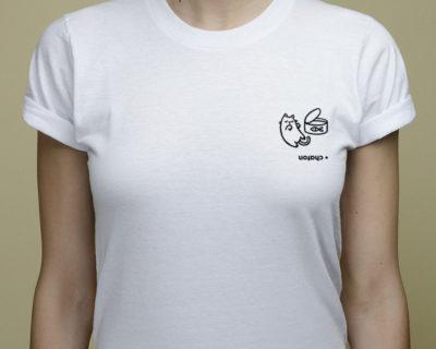t-shirt chaton rébus