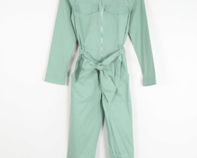 Combinaison pantalon verte
