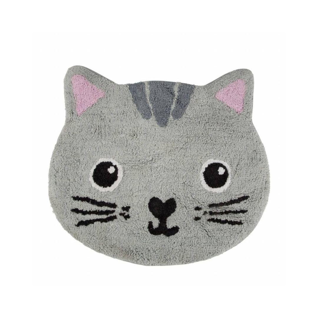 Tapis de bain chat