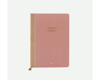 notebook sticky lemon