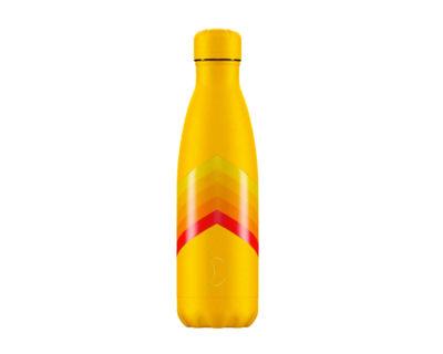 Gourde Rétro ZigZag jaune 500 ml