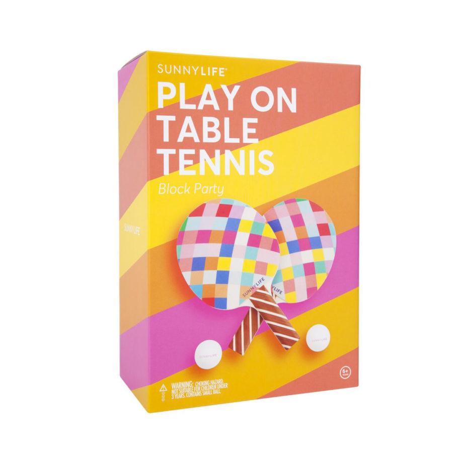 Jeu ping pong block party Sunnylife