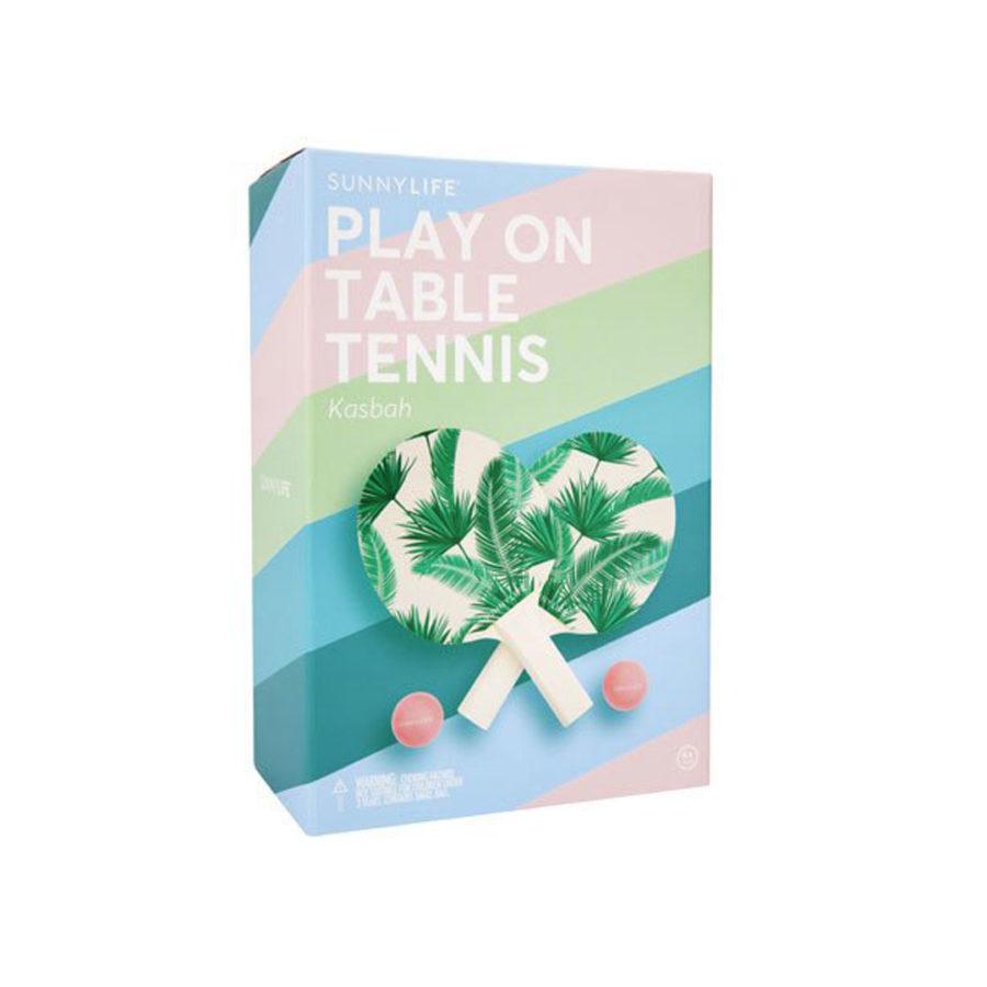 Jeu ping pong vegetal Sunnylife
