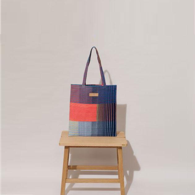 Tote Bag Gradient marine et rose Mapoésie