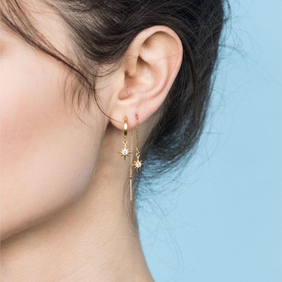 Boucles d'oreilles chaîne Mythos