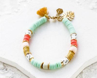 Bracelet Mykonos corail Shlomit Ofir