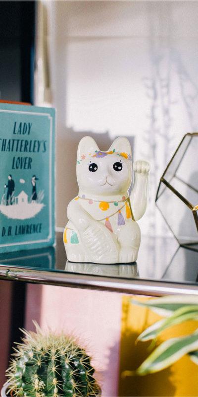 Chat porte-bonheur Llama Doiy