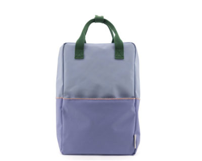 Sac à dos Colourblocking bleu/lilas L