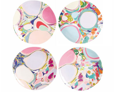 Set de 4 assiettes Lillian &Klevering