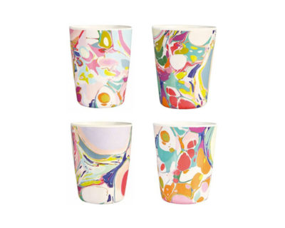 Set de 4 mugs Lillian Farag Klevering