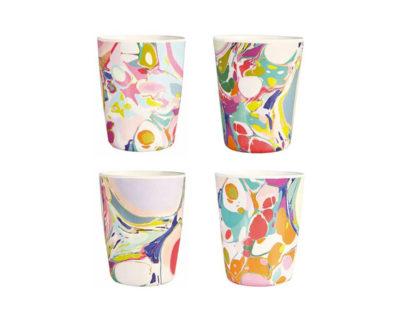 Set de 4 mugs Lillian Farag Klevering