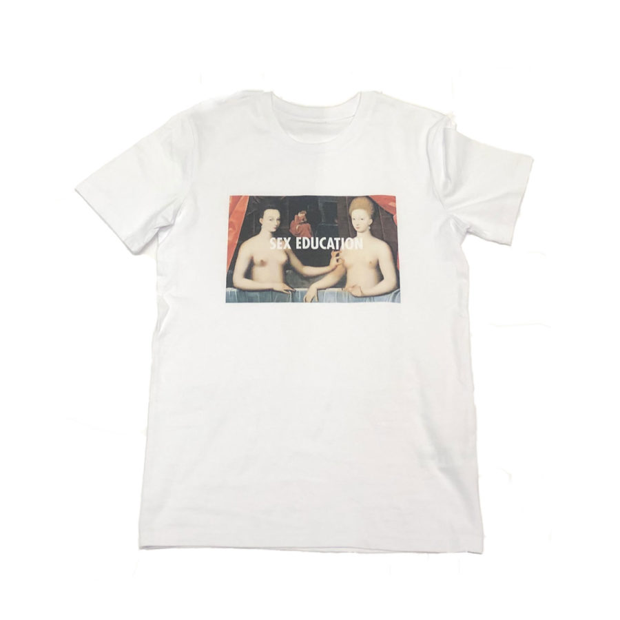 t-shirt sex education le chat anonyme