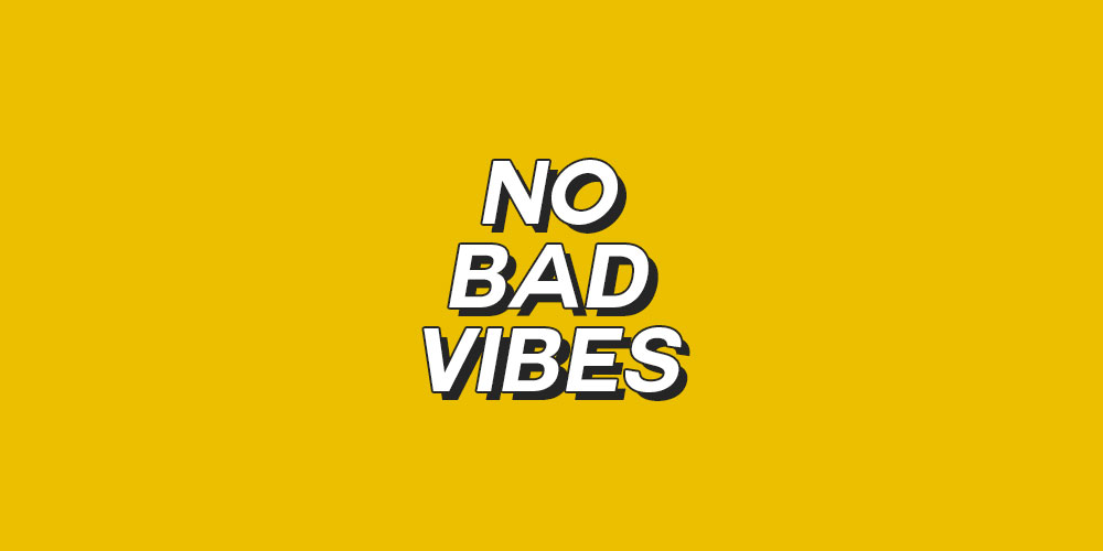 Mantra No bad vibes Concept Store Made by Moi