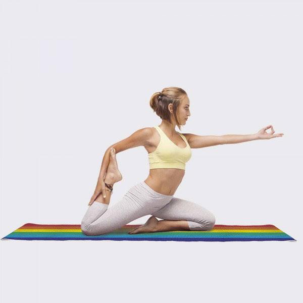 Tapis de yoga Arc-en-ciel DOIY
