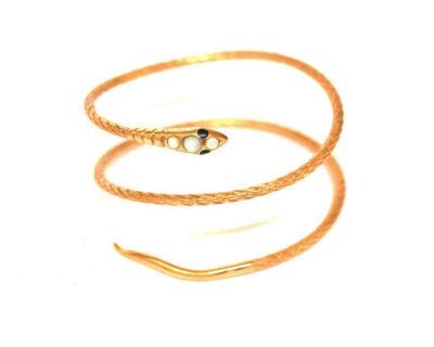 bracelet sissi serpent nacre