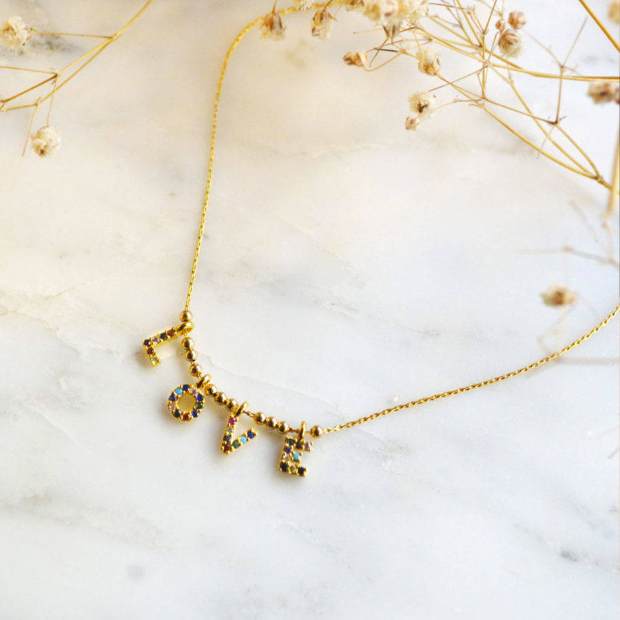 collier-lettres-love-pierres-YAY-1