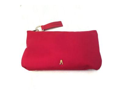 pochette nylon rouge